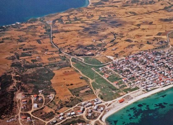 Canal of Xerxes Ouranoupoli Halkidiki Greece