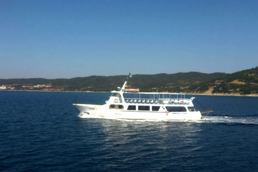 Cruise - Ouranoupolis to Vourvourou, Ammouliani