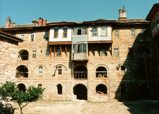 Monastery Megistis Lavras