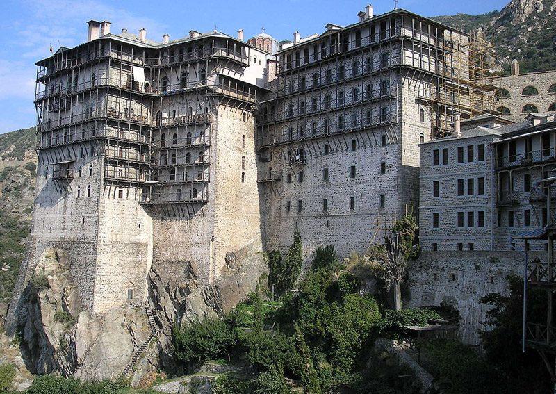 Monastery Simonos Petra