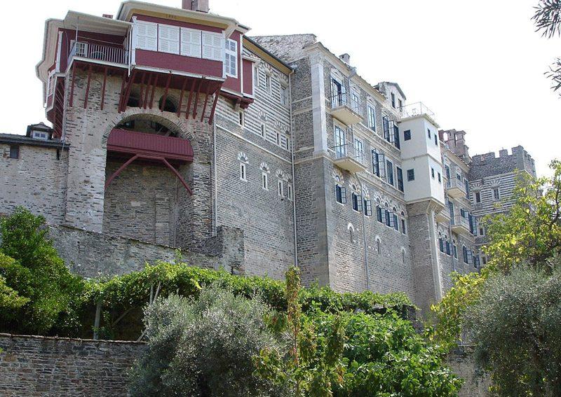 Monastery Vatopedi or Vatopediou