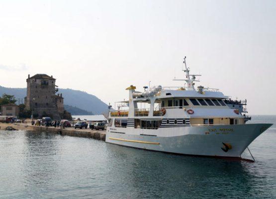 Cruise - Ouranoupolis to Mount Athos