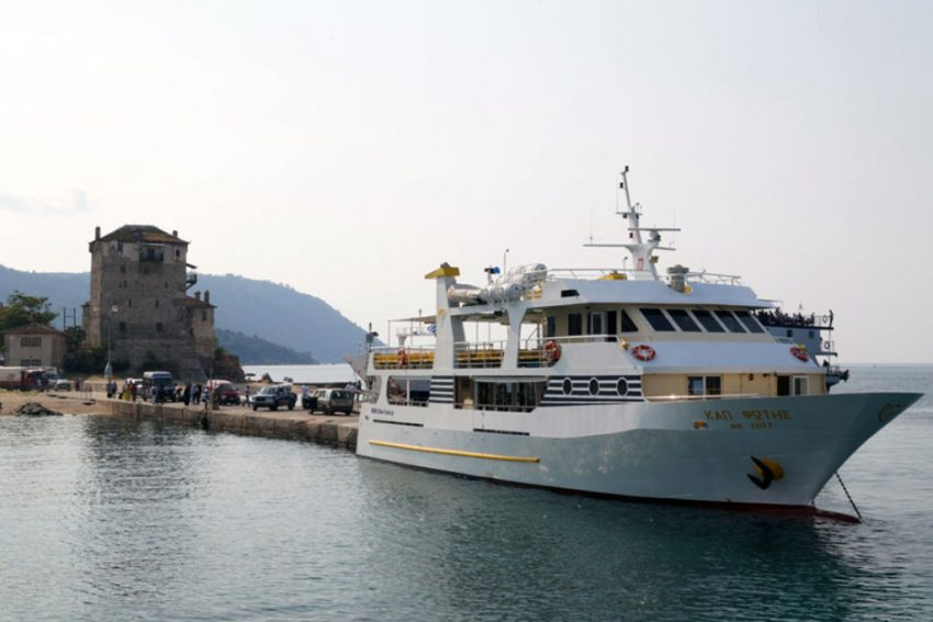 Cruise - Ouranoupolis to Mount Athos