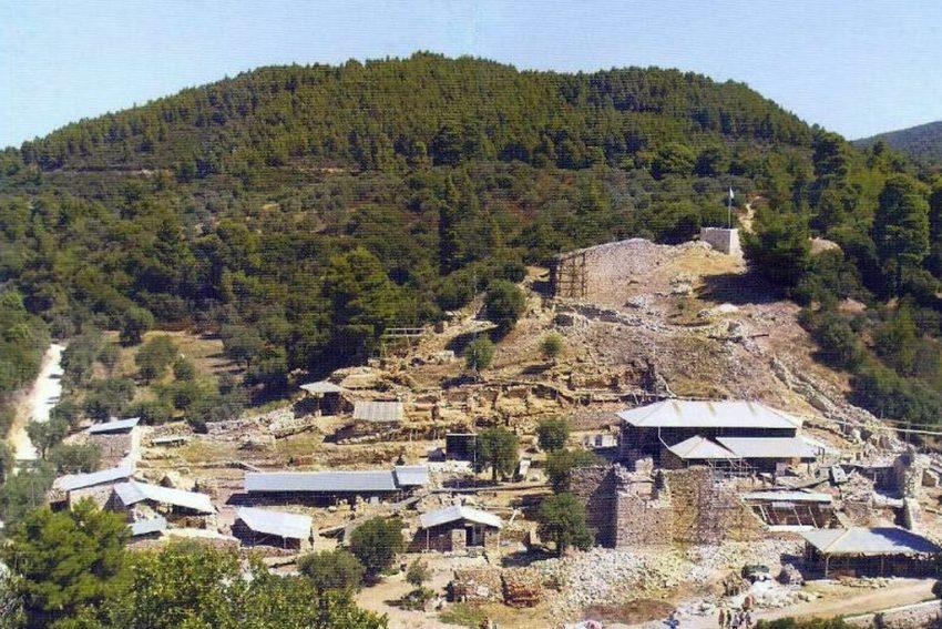 Zygou Monastery Ouranoupoli Halkidiki Greece