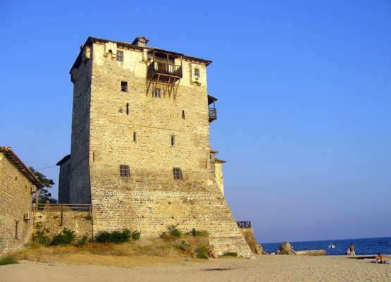Tower of Ouranoupoli Halkidiki